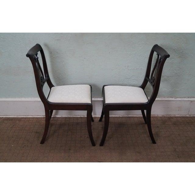 Schmieg/Kotzian Robert Whitley Dining Chairs - 12 - Image 3 of 10