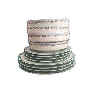 Paradise Pattern Noritake Dinnerware - Set of 4