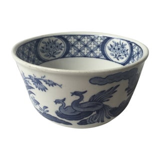 English Blue and White Bowl