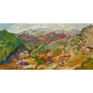 Malibu Ranch Oil Painting