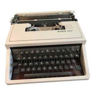 Vintage Olivetti Dora Typewriter