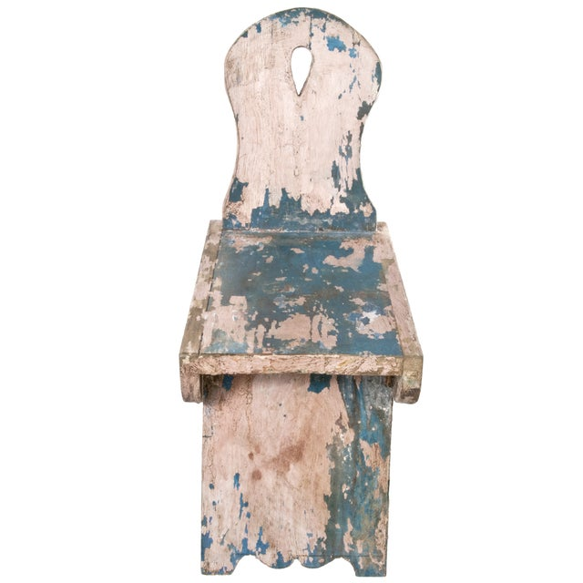 French Farmhouse Milking Stool - Image 2 of 5