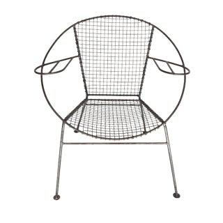 Curved Salterini Arm Chair