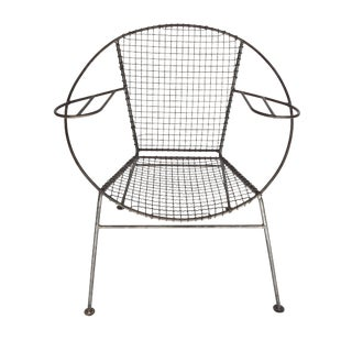 Curved Salterini Arm Chair