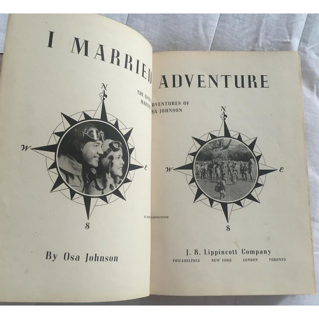 1940 I Married Adventure, Zebra Bound Display Book - Image 4 of 10