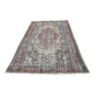 Turkish Anatolian Wool Rug - 5′7″ × 8′10″
