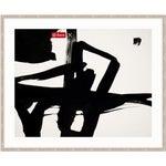 Image of Franz Kline Untitled Black & White Abstract Framed Art Print
