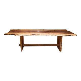Handcrafted Live Edge Dining Table