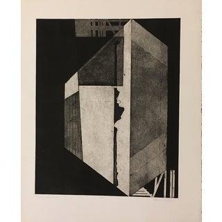 "Cheryl Wolfson ""Textured Shapes #2"" Print"