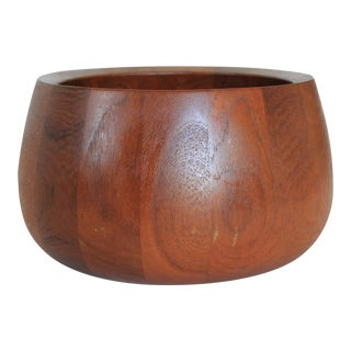 Teak Serving Bowl by Dansk