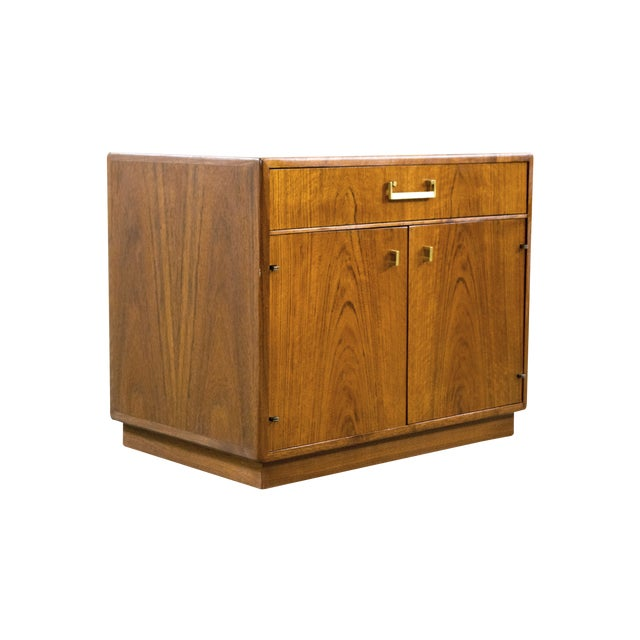 Image of Founders Mid-Century Walnut Chest