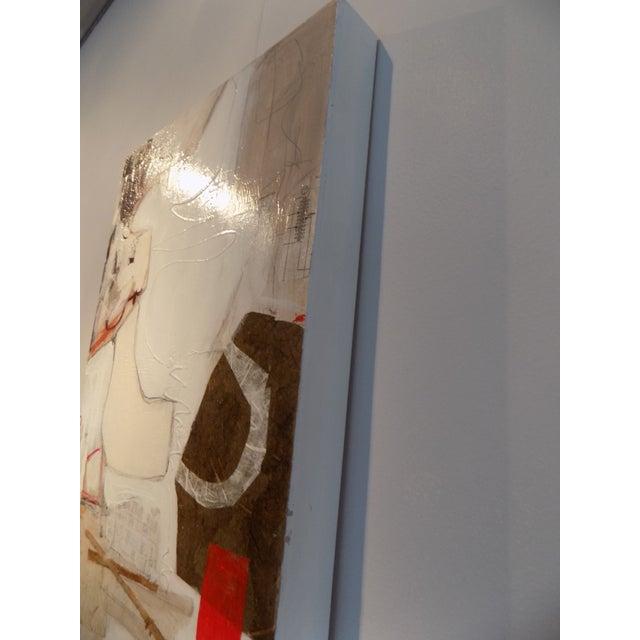 """Image of """"Untitled I"""" Mixed Media Painting"""