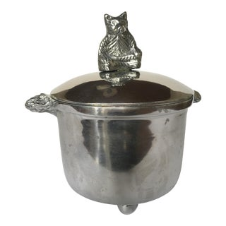 Pewter Bear Canister