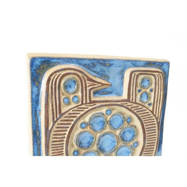 Vintage Bornholm Glazed Decorative Tile - Image 4 of 5