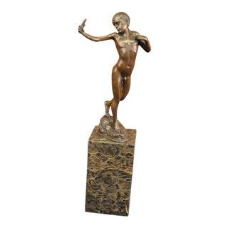 Boy Vienna Hot Cast Bronze Statue