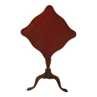 Kittinger Colonial WIlliamsburg Mahogany Tilt Top Table