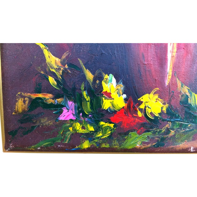 Image of Floral Still Life Oil Painting