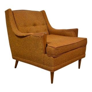 Orange Kroehler Lounge Chair