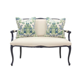 French Provencal Style Settee