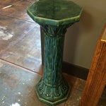 Image of Art Nouveau Ceramic Pedestal