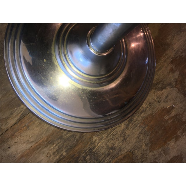 Machine Age Industrial Chrome Smoking Stand - Image 9 of 10