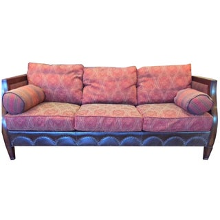 Vanguard Leather & Fabric Custom Sofa