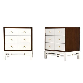 Pair of Mid-Century Modern-style Side Tables or Night Stands by Paul McCobb