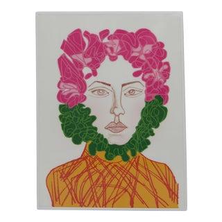 """""""Si Yo Fuera Frida"""" Drawing by Gabriela Valenzuela-Hirsch"""