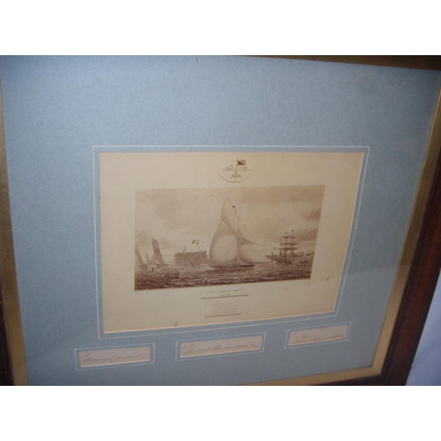 Framed Photo of The Terrible Fiona Yacht, 1899 - Image 10 of 11