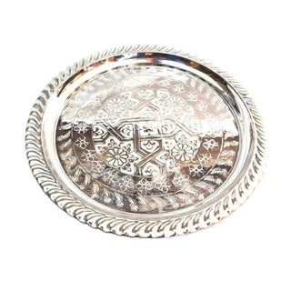 Silver Handmade Moroccan Tray
