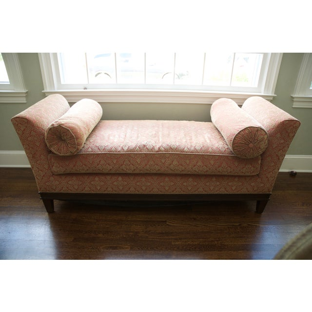 Backless Upholstered Settee Bench Chairish