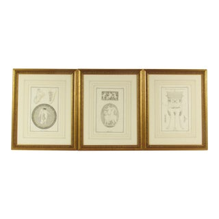 18th C. Willemin Greek Mythological Engravings - Set of 3