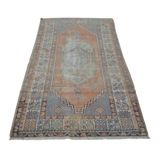 Anatolian Vintage Turkish Rug - 3′10″ × 6′9″
