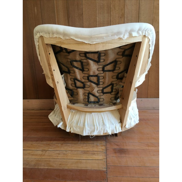 """""""Rounded"""" Chair + Custom Upholstery Service - Image 5 of 6"""