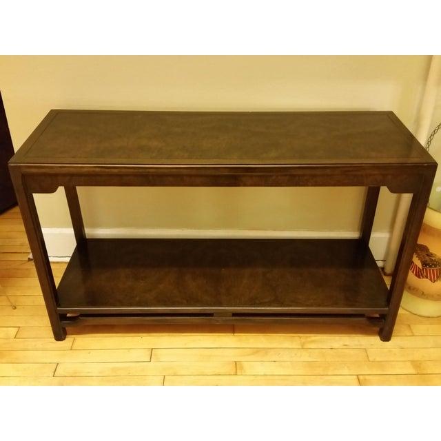 Thomasville Burlwood Sofa Table - Image 2 of 6