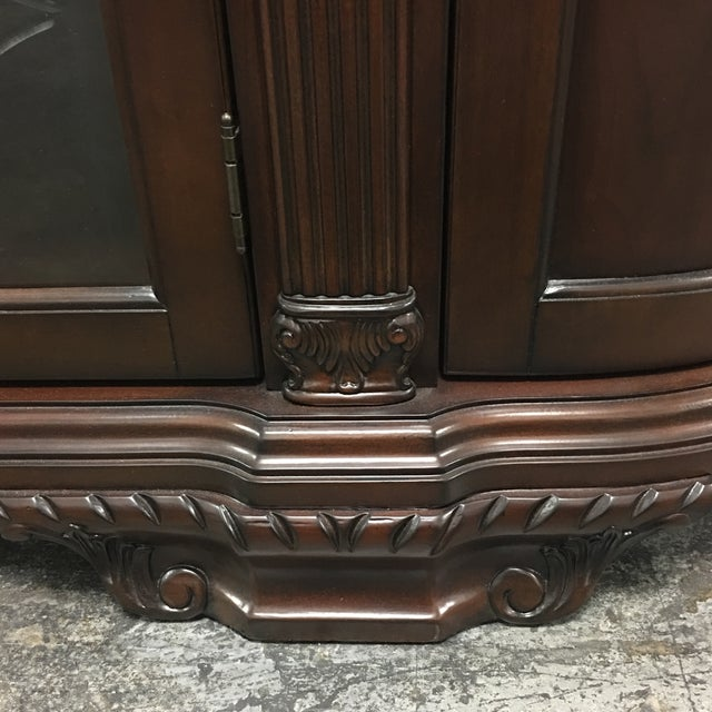 Bellagio Brown Cherry Finish Server Buffet Cabinet - Image 5 of 11
