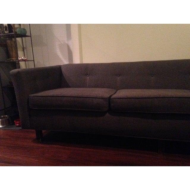 Mid-Century Black Sofa - Image 5 of 5
