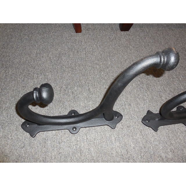 Image of Cast Iron Hangers - Pair