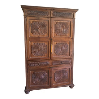 Kreiss Asian Style Armoire Entertainment Furniture
