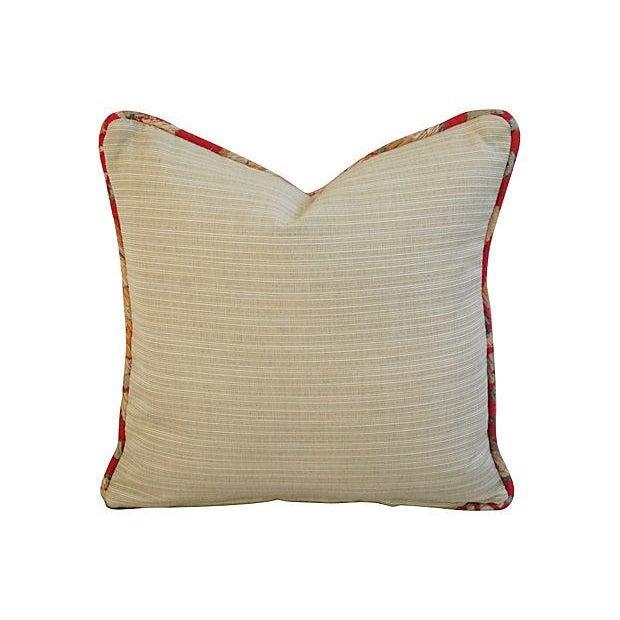 Image of Custom Designer English Woven Tapestry Pillow