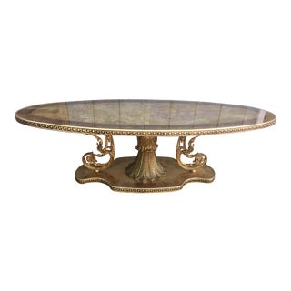 Vintage Hollywood Regency Style Coffee Table