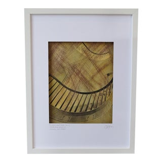 """""""The Magnificent Spiral (No. 1)"""" Hand Colored Photographic Framed Print"""