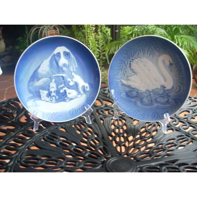 B&G Copenhagen Mother's Day Plates - A Pair - Image 2 of 4