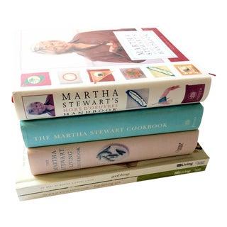 Martha Stewart Cooking & Entertaining Book Bundle - Set of 5