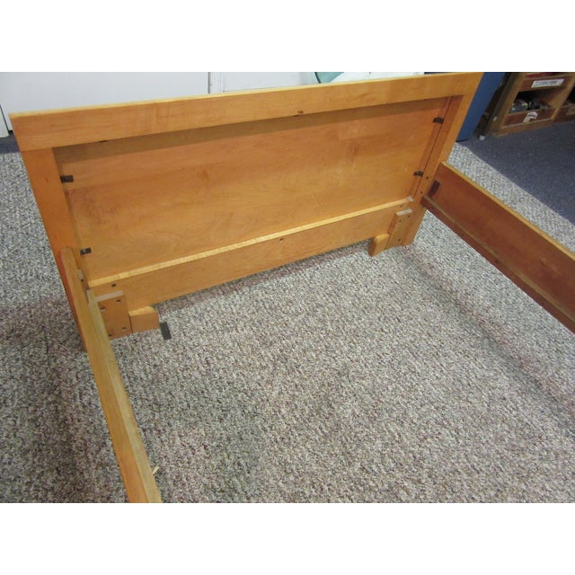 Mid-Century Wakefield Style Twin Beds - A Pair - Image 7 of 11