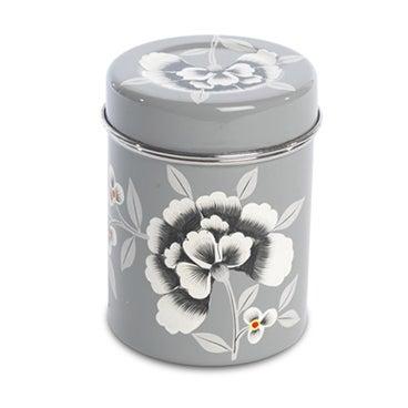Fleur Enamelware Tea Tin - Image 1 of 2