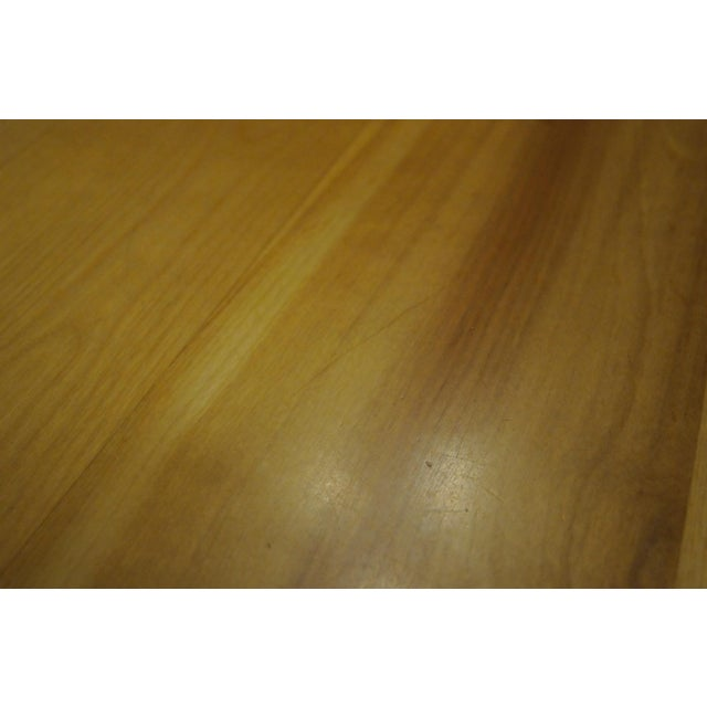 Solid Beech Trestle Table - Image 7 of 9