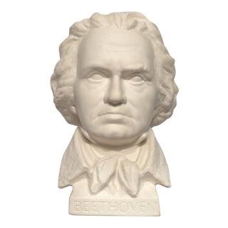 Vintage G. Bochmann Beethoven Porcelain Bust By Globel
