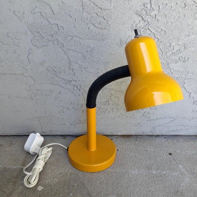 Image of Vintage Gooseneck Adjustable Task Lamp