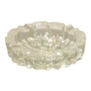 Heavy Cut Crystal Ashtray